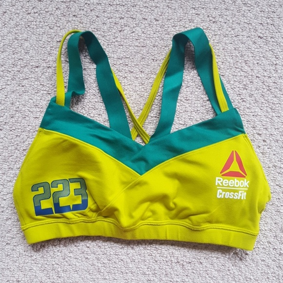 07baf22d5d Reebok Official CrossFit Games Sports Bra